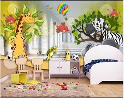 3d Wall Murals Wallpaper Custom Picture Mural Wall Paper 3d Animal Mobilization Beautiful Cartoon Childrens Room Kids Room Mural Wallpaper Images Hd Wallpaper In Hd From A1048874333 8 79 Dhgate Com