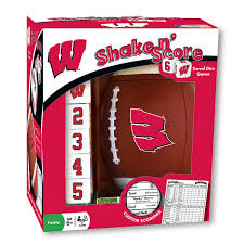wisconsin badgers shake and score game