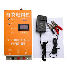Solar Electric Fence Energizer Charger Security Fencing Low Cost Water Proof Anti Dust Shopee Philippines