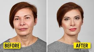 makeup artist to help you look younger