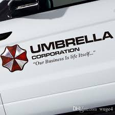 2020 35 50 75 90cm Film Colored Umbrella Corporation Car Styling Pvc Sticker Side Door Body Garland Refitting Exterior Decor Decal From Wuge4 12 33 Dhgate Com