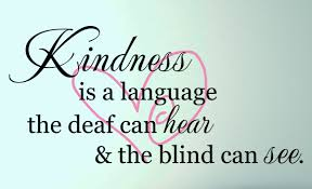 Kindness Is A Language Wall Decal Trading Phrases