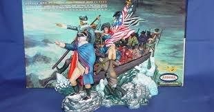 George Washington | Box art, Plastic company, Model kit