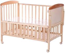 Solid Wood Crib Unpainted Multi Functional Baby Bed Multi Function Bb Game Bed Crib Baby Play Fence Amazon Ca Home Kitchen
