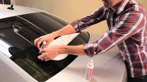 How To Apply A Decal To Your Car Window Youtube
