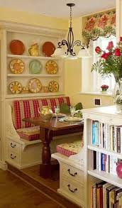 I love a booth in the house, my Nannie Smith had one ♥ | Decor ...