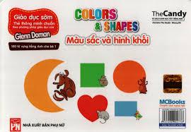Flashcard dạy trẻ theo phương pháp Glenn Doman - Màu sấc & hình ...