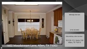 Virtual tour for 1602 Woodstream Lane, Allen, TX 75002 | $1,950 | 2601  Sq.ft | 3 Bedrooms
