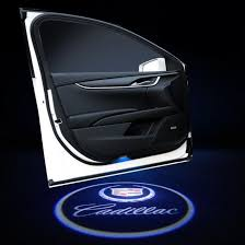 Luxury Quality Car Special Led Door Logo Projector For Cadillac