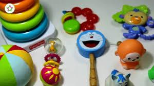 Đồ chơi phù hợp cho trẻ từ 3 - 6 tháng tuổi - YouTube
