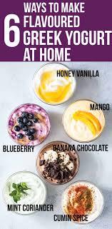 6 homemade greek yogurt flavors clean