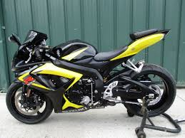 suzuki gsxr 750 very clean with a