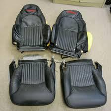 c5 corvette black factory z06 seat