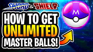 How to Get Unlimited Master Balls In Pokemon Sword and Shield ...