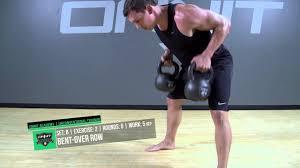 double kettlebell strength workout