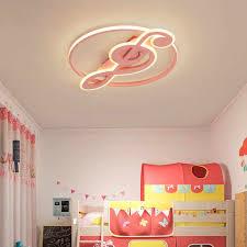 Music Note Acrylic Light For Kids Room Bedroom Ceiling Light Child Room Ceiling Lamp Baby Room Girl Lamp Girls Ceiling Light Led Aliexpress