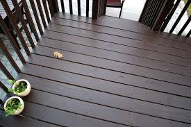 In The Little Yellow House Quick Round Of Stain Deck Staining Deck Cool Deck Wood Deck Stain