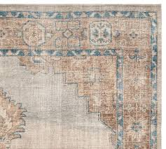 finn hand knotted rug swatch pottery barn