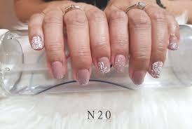 patterned nail art white fl swirls