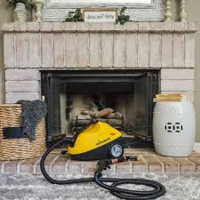 how to steam clean your fireplace