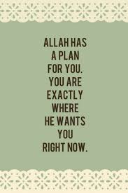 nusyah r islamic art and quotes allah has a plan for you