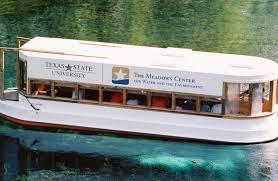 returns glass bottom boat