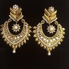 gold silver indian asian polki kundan