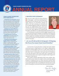 2015 Coast Guard Foundation Annual Report by Coast Guard ...