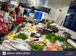 Seafood Market High Resolution Stock ...