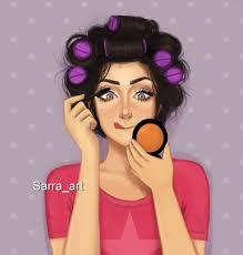 Sarra Art وضع البنات يوم العيد الصبح منشن صديقتك فيسبوك