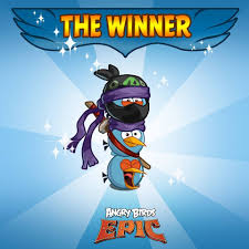 You voted until your keyboards... - Angry Birds Epic