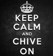 Keep Calm And Chive On Sticker Kcco Stickers Chive On Decals Keep Calm And Chive On Sticker