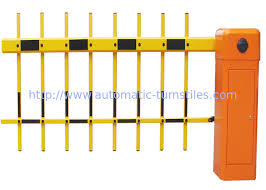 Intelligent Fence Traffic Barrier Gate With 180 Degree Folding Arm