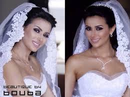 white dress royal makeup eastern