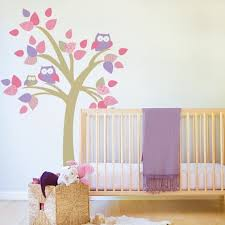 Tree With Owls Fabric Decal 78 Tree Wall Decals For The Nursery Popsugar Family Photo 5