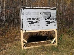 diy elevated hunting blinds the