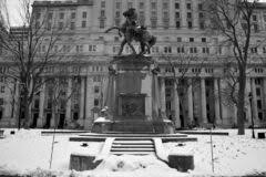 Equestrian Statue Was Sculpted By George W. Hill Editorial Image ...