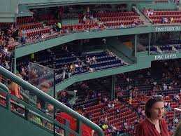 fenway park seating for red sox games