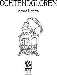 Bol Com Ochtendgloren Hanna Karlzon 9789045321011 Boeken