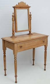a late victorian waxed pine dressing