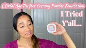 age perfect creamy powder foundation