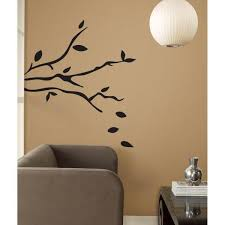 Roommates 19 In Tree Branches Peel And Stick Wall Decals Rmk1317gm The Home Depot