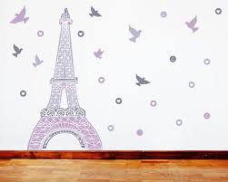 Eiffel Tower Wall Decal Eco Wall Decals