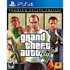 Best Buy: Grand Theft Auto V Premium Online Edition PlayStation 4 [Digital]  DIGITAL ITEM