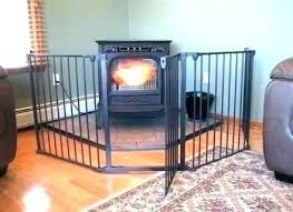 baby proofing fireplace cover proof