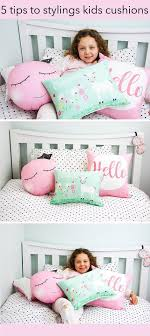 5 Tips To Styling Your Kids Cushions Kids Bedroom Decor Cushions Nursery Inspiration Neutral