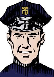 Policía en retrato | Vectores de dominio público