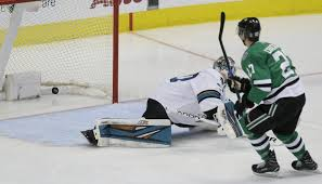 Cracknell gets 1st hat trick, Stars beat reeling Sharks 6-1
