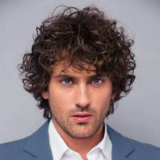 curly hairstyle haircuts for men
