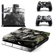 Vinyl Decal Skin Sticker Cover Of Metal Gear Solid For Sony Ps4 Playstation 4 And 2 Controller Skins Consoleskins Co